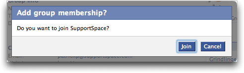 Are You Sure You Want to Join Facebook Group SupportSpace? :: Facebook Help