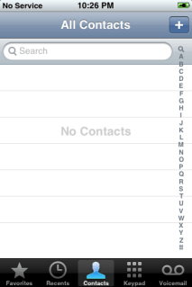 iphone reset 16: no contacts!