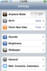 apple iphone settings 1