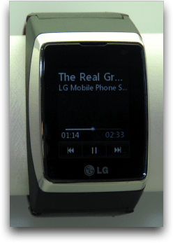 lg mobile phone watch