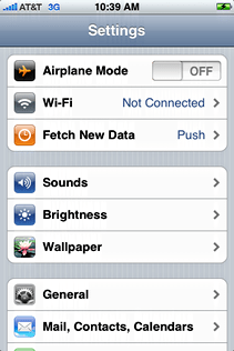 starbucks attwifi iphone settings
