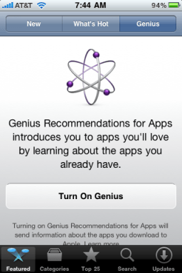 apple iphone app genius 3