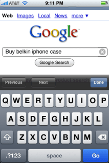 apple iphone google mobile shopping 2