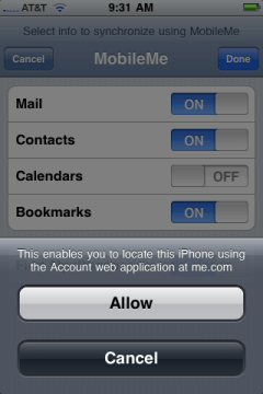 apple iphone mobile me settings 2