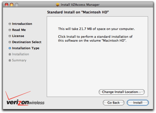 vzaccess manager mac install 3