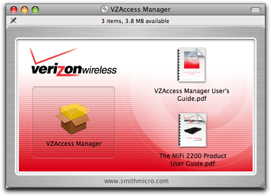 vzaccess manager mac