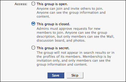 facebook create a new group 3