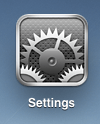 ipad icons settings