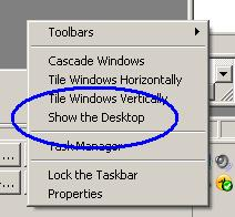 windows view desktop
