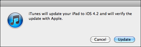 apple ipad update ios 2