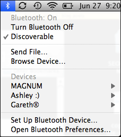copy send file bluetooth mac cellphone 6
