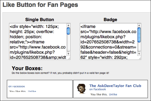 facebook like button generator 4