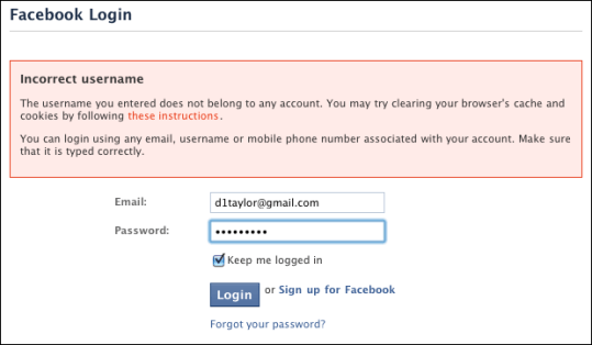 facebook login lost forgotten password 2