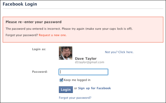 facebook login lost forgotten password 3