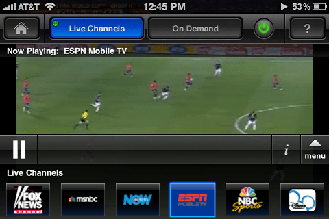 iphone mobitv streaming tv 4
