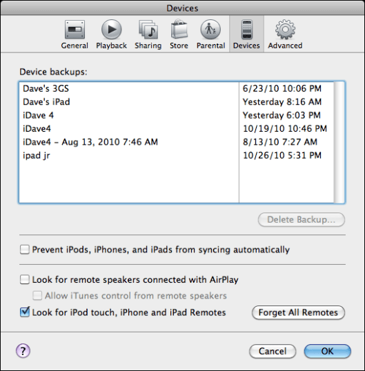 itunes enable airplay 1