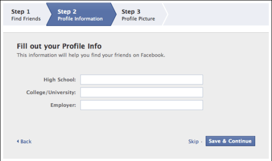 sign up new facebook account 5