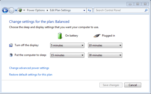 windows 7 power saving battery laptop 2