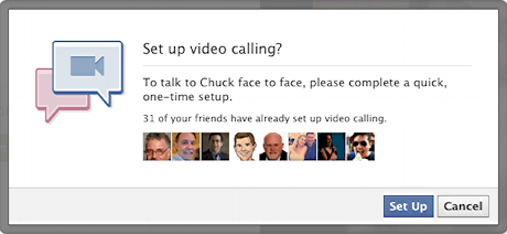 facebook video chat calling setup 5