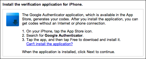 google gmail 2 step verification 5