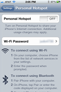 ipad iphone online personal hotspot 2