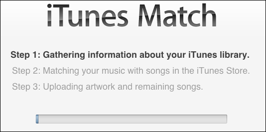 itunes music match get started 4