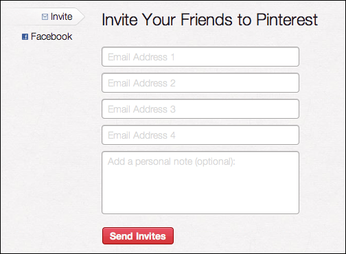 pinterest add invite friend 2