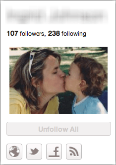 pinterest unfollow someone 2