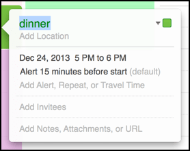 add ical calendar event mac