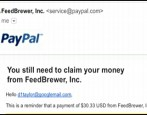 claim money paypal