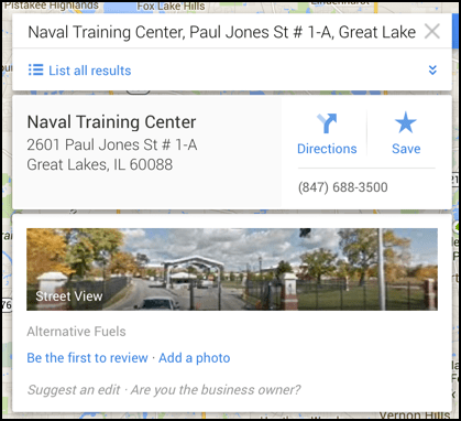 google maps offers lots of info on a location