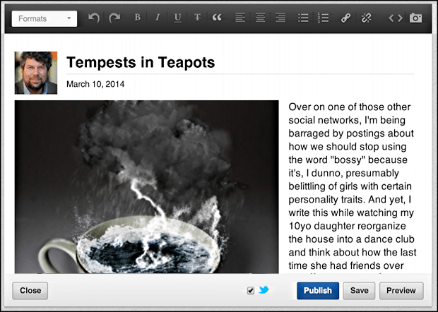 tempests in teapots