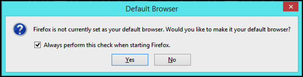 win7 firefox as default browser?