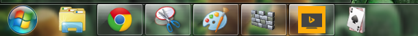 program app pinned to windows taskbar