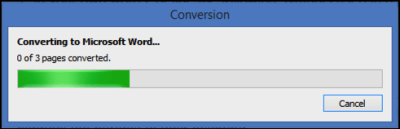 converting pdf to word file