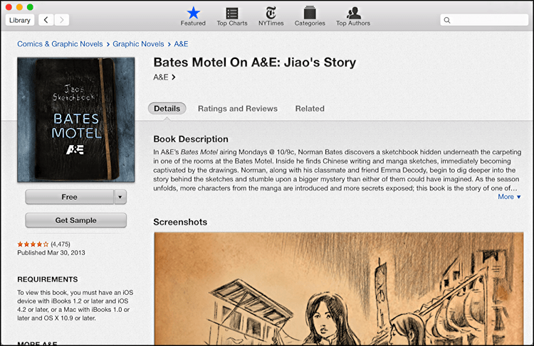 bates motel jaio's story ibooks ebook free