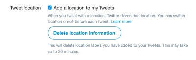 Can I hide my location on Twitter posts? - Ask Dave Taylor