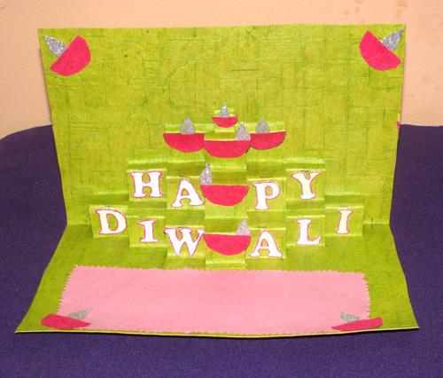 Holi 3d Wallpaper Name 10 Beautiful Handmade Diwali Cards