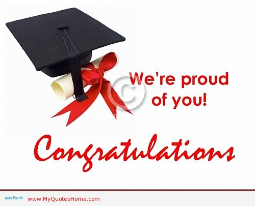 We\u0027re Proud Of You Congratulations On Your Graduation - congratulations on graduating