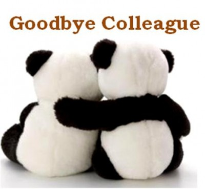 Good Bye Sticky Note - goodbye note