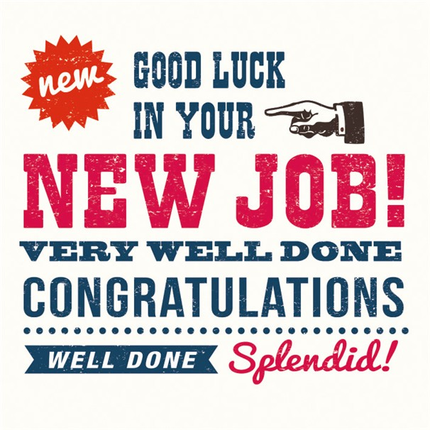 15 Best Congratulations On New Job Wishes Pictures - congrats on new position