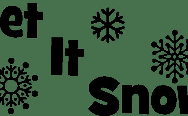 30 Wonderful Let It Snow Winter Pictures