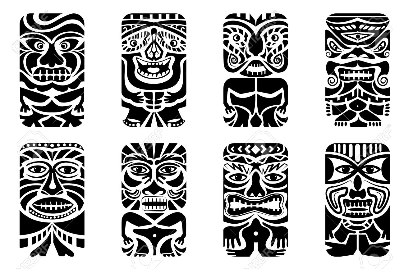 14 Latest Tiki Tattoo Designs And Ideas