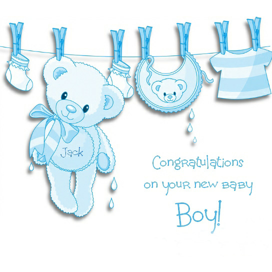 Congratulations On Your New Baby Boy - new baby congratulations
