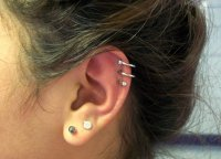 Cartilage To Lobe Earrings Spike Studs Conch And Lobe Ear ...