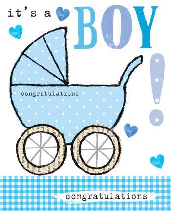 It\u0027s A Boy Congratulations