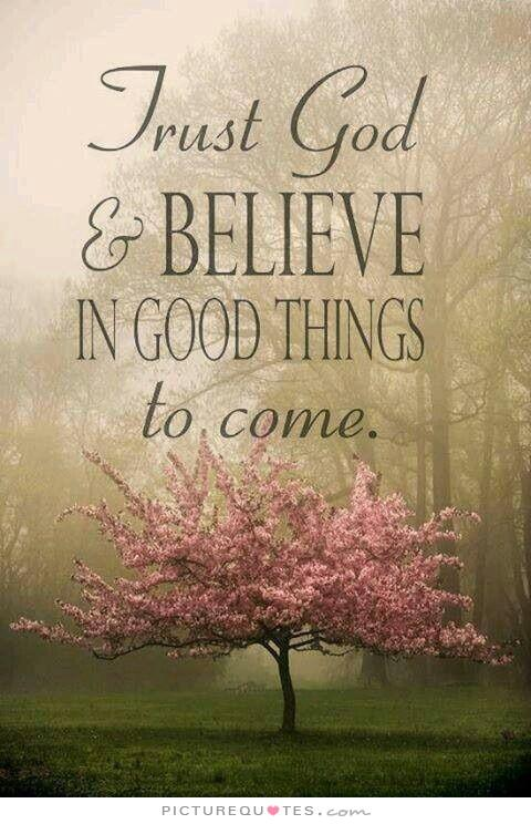 Fall Scripture Iphone Wallpaper Trust God And Believe In Good Things To Come