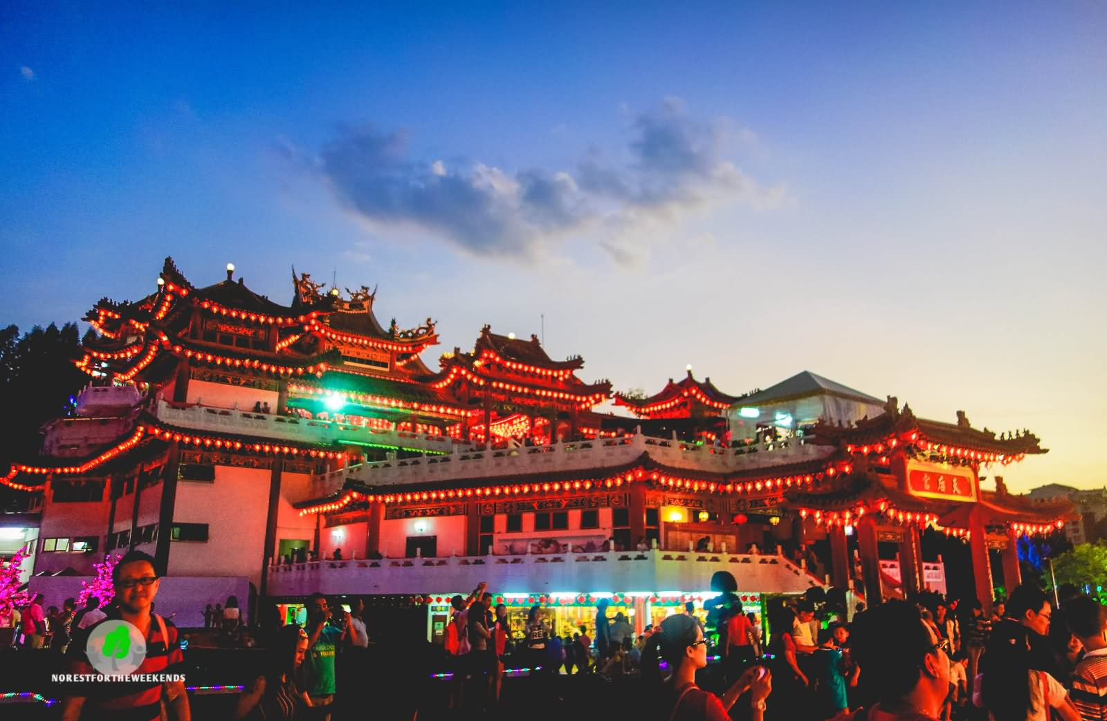 Lit Quotes Wallpaper 10 Thean Hou Temple Night Pictures And Photos