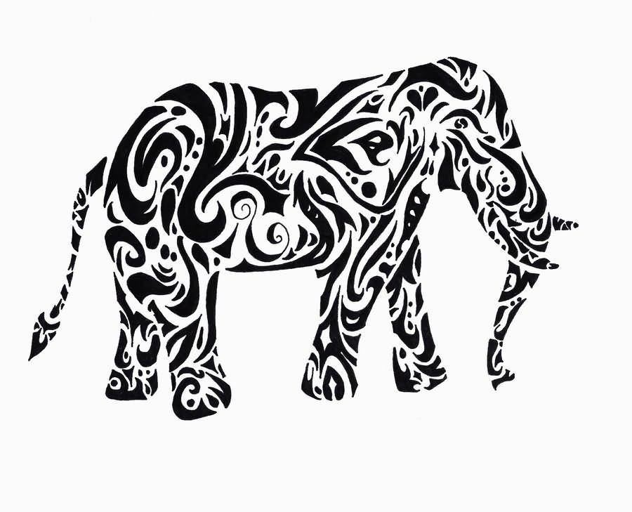 11 Indian Elephant Tattoo Designs