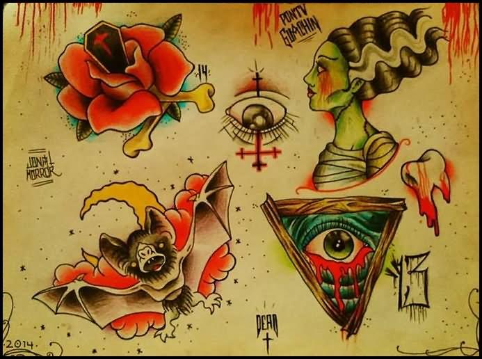 Freddy Krueger Wallpaper 3d 24 Horror Tattoos Flash Ideas